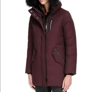Mackage MARLA parka with fur-lined hood, size S